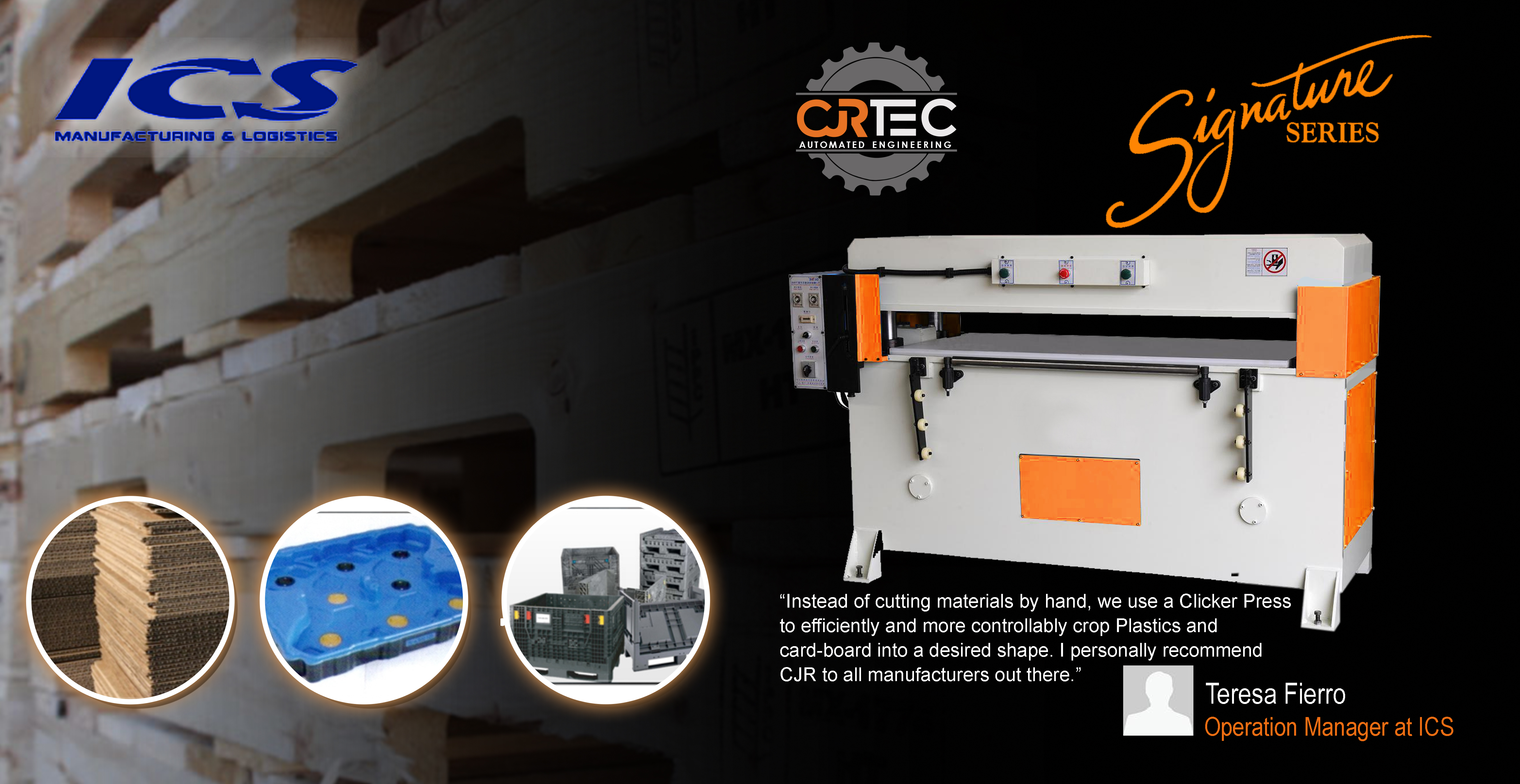 cjrtec clicker press die cutting machine