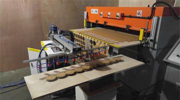 robot picking carton