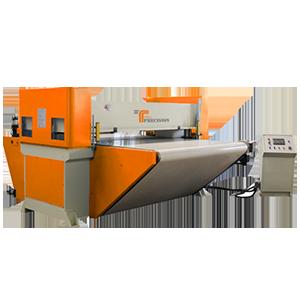 Conveyor belt beam press