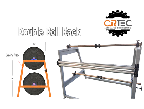 Double roll rack