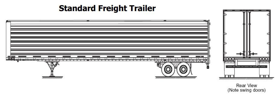 shipping trailer