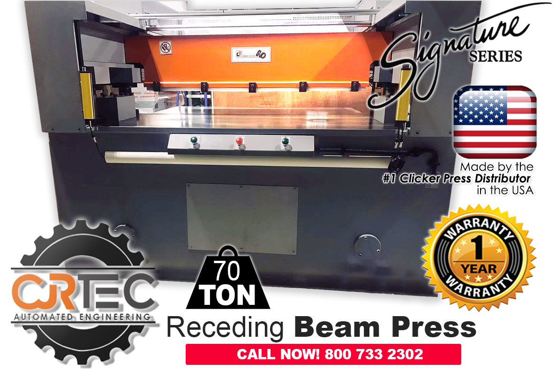 Receding Beam Press